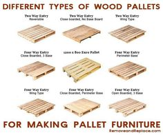 Types of Wood Pallets