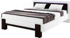 łóżko KYOTO z oświetleniem / KYOTO bed with lighting #bedroom #sypialnia #mebledosypialni #bedroomfurniture #meble #furniture #lozko #bed #design #interior #wnetrza #bialasypialnia #whitebedroom #furnitureproducer #dignet #dignetlenart #ledlighting #oswietlenieledowe #kyoto