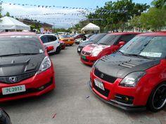 Suzuki Swift from Team Swift Cebu dominated Japanese Car Festival happening at Parkmall last February 14-16, 2014