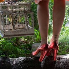 Magic Steps with Mariel Red Tinkerbell on: http://lenora.shoes/#instafashion #ootd #instafashion #cute #like4like #photooftheday #glam#shopping #love#my#shoes