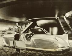 retro_futurism: Astra-Gnome: Time and Space Car Space Car, Space Time, Comics Illustration, The Future Is Now, Atomic Age, Atomic Punk, Futuristic Cars, Futuristic Vehicles, Googie