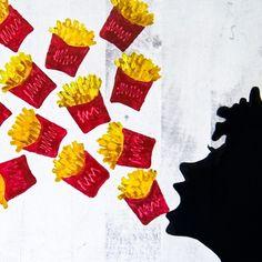 Oh Fries! Drica Lobo Art