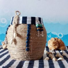 Серьги, подставка. Hand Made. Мастер Кроль (@hm_mkrol). Морская тема