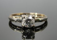 RESERVED  Fourth and Final Payment  1940s Two Tone by MSJewelers, $518.66