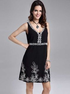 Black concert dress uk size