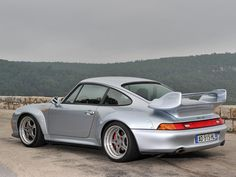 The variant of the 993 series Porsche 911 has always been regarded as a racing version of the car, being equipped with multiple different parts which improve its performance. For instance, the Porsche 911 993, Porsche Carrera, Porche 911, Porsche Autos, Porsche Sports Car, Porsche Cars, Porsche Classic, Classic Cars, Peugeot