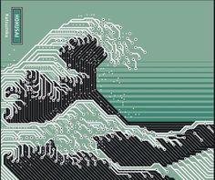 hokusaï circuit vague