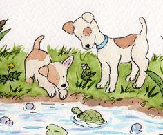 Jack Russel Terriers by JasperAndRuby