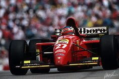 Jean Alesi en route to his maiden (and only) victory at Montreal, 1995.