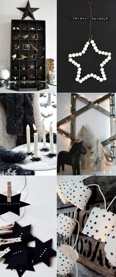 Black & white Christmas inspiration