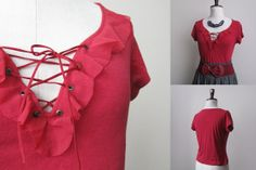 women in red by Cassidy A on Etsy