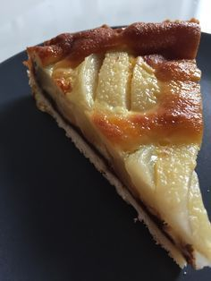 Pear and chocolate tart with gentle shortbread Rachel delicacies Fall Dessert Recipes, No Cook Desserts, Lemon Desserts, Cookie Desserts, Chocolate Desserts, Delicious Desserts, Tart Recipes, Sweet Recipes, Shortbread