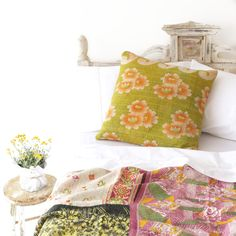 Kantha Love - Sage and Clare