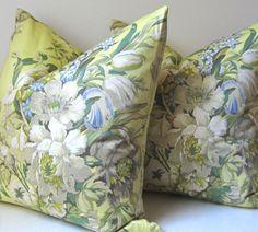 20 off SALE Floral Pillow Cover Decorative by studiotullia 25.00