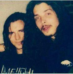 Chris with Eddie Vedder