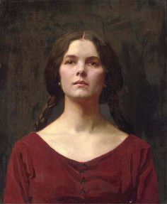 View A young beauty by Thomas Cooper Gotch on artnet. Browse upcoming and past auction lots by Thomas Cooper Gotch. Female Portrait, Portrait Art, Female Art, Portrait Paintings, John Everett Millais, Pre Raphaelite, London Art, Historian, Figurative Art