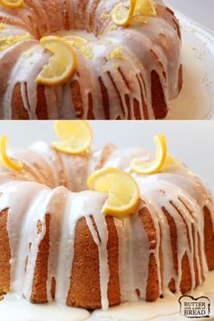 Lemon Buttermilk Pound Cake is a classic pound cake recipe with the addition of fresh lemon! Buttermilk gives this Lemon Pound Cake a wonderful texture and everyone loves the bright flavor of the lemon glaze. It's the perfect buttermilk pound cake recipe! Lemon Buttermilk Pound Cake, Lemon Bundt Cake, Buttermilk Recipes, Lemon Recipes, Italian Lemon Pound Cake, Butter Pound Cake, Rum Cake, Buttermilk Biscuits, Food Cakes