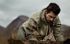 Exploring the Scottish Highlands: David Gandy photographed by John Balsom.