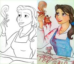 14 More Coloring Book Corruptions - Gallery