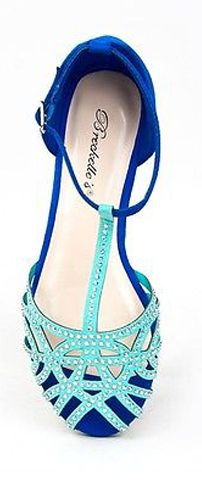 Mint Flat Sandals I have these in a different color!! Payless has the exact copy of these for a lot less!! love this blue!