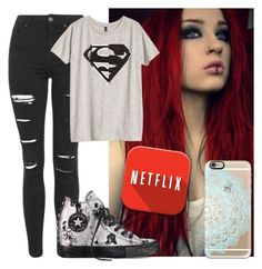 """sorry i havent been on as much"" by tay-tay-marie ❤ liked on Polyvore featuring Topshop, H&M, Converse and Casetify"