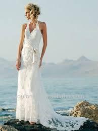 vestidos de novia playa sencillo