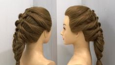 Hottest Screen Stunning French Braid Coiffure Easy Trick Hairstyles Coiffure 2020 Suggestions Each hair has its characteristic, and may be separately carried. There are therefore many sweet ha # french Braids tips Five Minute Hairstyles, Sweet Hairstyles, Cute Simple Hairstyles, French Braid Hairstyles, Braided Hairstyles Tutorials, Hairstyles For School, Trendy Hairstyles, Hairstyles Videos, Light Auburn Hair Color