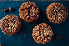 Spiced Molasses Cookies with ginger, cinnamon and cloves