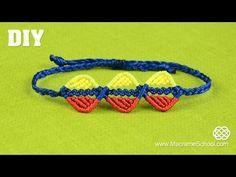 ▶ DIY Easy Triple Wavy Leaf Bracelet Tutorial #Colombia