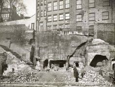 Drury Hill - Page 3 - Web Sites about old Nottingham - Nottstalgia . Nottingham Caves, Nottingham City Centre, Nottingham Uk, Local History, Family History, Old Pictures, Old Photos, History Photos, Old World