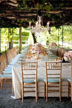 vineyard chic ~ Wedding Photography: Gertrude & Mabel | Wedding Venue: Beaulieu Garden in Napa, California | Wedding Planner: Amy Nichols Special Events | Floral Design: Nancy Liu Chin