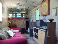 MrSharkey's blog on converted buses