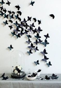 revoada de borboletas