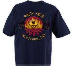 Pack Campfire Shirt - Cub Scout™ Pack Design SP2120 -p.3