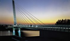 Calatrava Alamillo Bridge