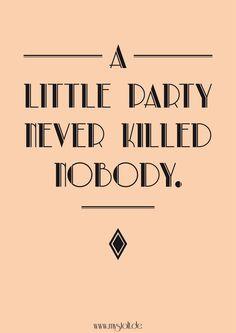 Gatsby Design Poster #design #print #great_gatsby #typo