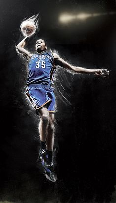 Kevin Durant - Oklahoma City Thunder the boss Basketball Art, Love And Basketball, Basketball Players, Basketball Shirts, Durant Oklahoma, Oklahoma City Thunder Basketball, Kevin Durant Shoes, Hip Hop Instrumental