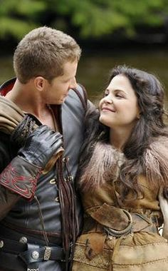 ONCE UPON A TIME, JOSH DALLAS, GINNIFER GOODWIN...<3 them together in the show and in real life