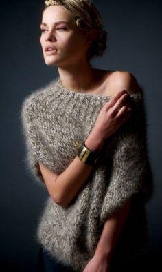Mily Pull : Angora, Viscose, Polyester, Tactel › Pull › Femme › Laines Annyblatt
