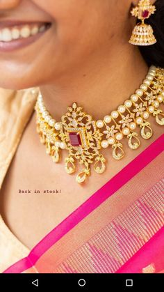 India Jewelry, Bead Jewellery, Bridal Jewelry, Gold Jewelry, Gold Choker Necklace, Earrings, Chocker, Chains, Necklace Drawing