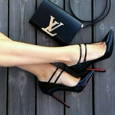 HOLD Christian Louboutin patent leather heel 120mm Beautiful barely worn (indoors only). Double strap heel Actually comfortable for a 120mm heel. Size 37 In pristine condition. No trading Christian Louboutin Shoes Heels