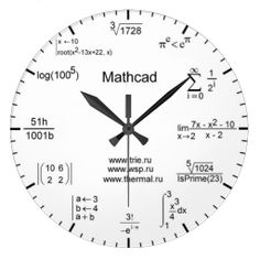 The Math Clock | Fun & Fashionable Home Accessories And Decor