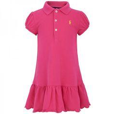 Ralph Lauren Fuchsia Dress  Bloomers Set at alexandalexa.com