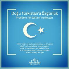 Freedom for eastern TURKESTAN