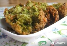 Sajtos zölborsógombóc Guacamole, Main Dishes, Dinner Recipes, Food And Drink, Appetizers, Low Carb, Healthy Eating, Mexican, Vegetarian