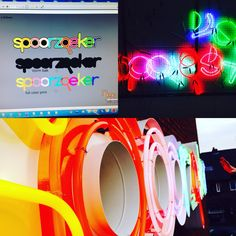 From design to finishend neon installation by Neondesigns