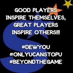"""Don't be good young baller...BE GREAT!"" #DEWYOU #ONLYUCANSTOPU #BEYONDTHEGAME #BASKETBALL #GOALS #SUCCESS #MOTIVATION #WINNING"