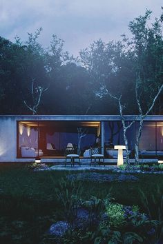 """livingpursuit: """"Forest House Conept by Yanis Lachat """""""