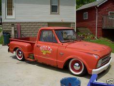 67 72 Chevy Truck Gallery | Project: '67 Chevy C-10 Rat Rod « Weblog of Miss-Lou Motor Mafia