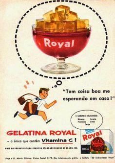 Gelatina Royal - Anos 50